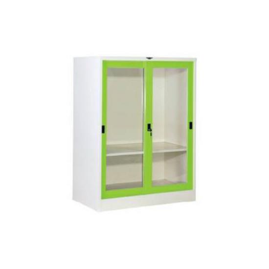 ตู้บานเลื่อนกระจก 4 ฟุต SL4FGLKC