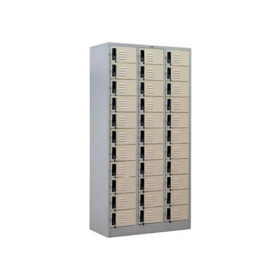 ตู้ล็อคเกอร์ 33 ช่อง (มีกุญแจ) LK33