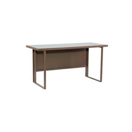 โต๊ะเหล็กขาคู่หน้าเหล็ก TS4ND