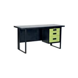 โต๊ะเหล็กขาคู่หน้าเหล็ก TS4D1
