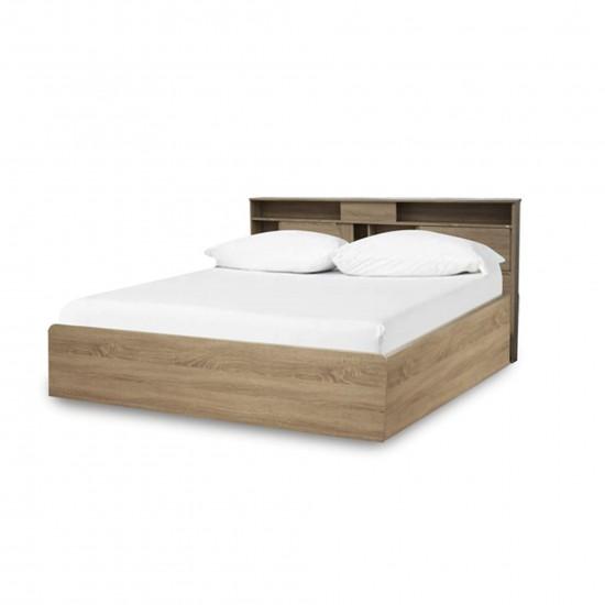 เตียงนอน ลายไม้ 6 ฟุต B239