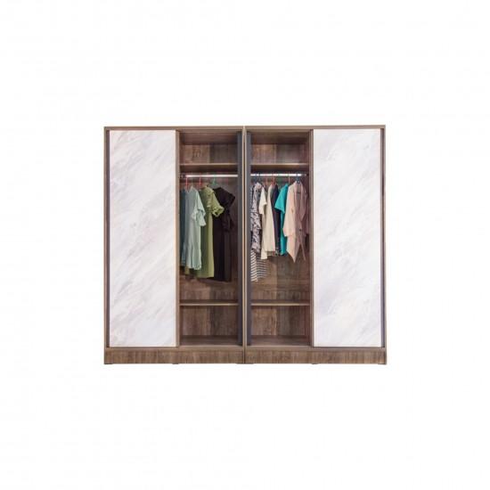 ตู้เสื้อผ้า 2.40 เมตร B290