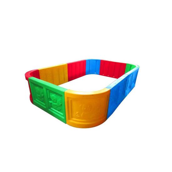 รั้วพลาสติกสนามเด็กเล่น PLQI8080
