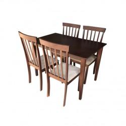 ชุดโต๊ะอาหาร 4 ที่นั่ง ซีนิน