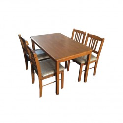 ชุดโต๊ะอาหาร 4 ที่นั่ง แพนด้า