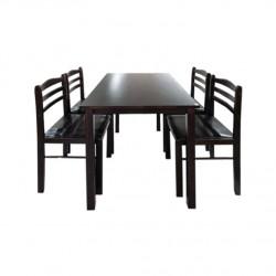 ชุดโต๊ะอาหาร 4 ที่นั่ง สตรัค