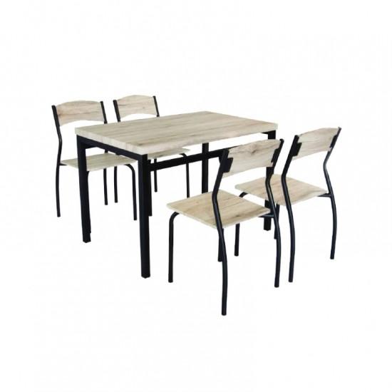 ชุดโต๊ะอาหาร 4 ที่นั่ง โซโนม่า