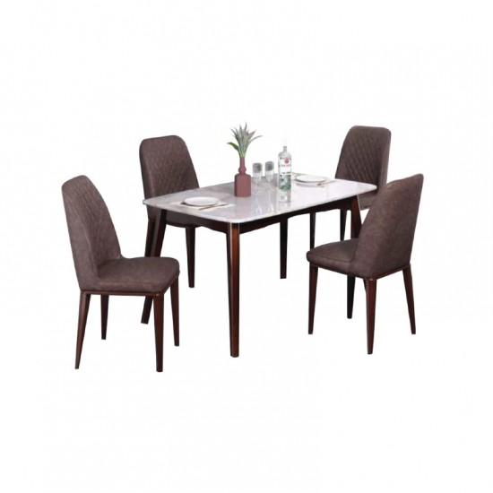 ชุดโต๊ะอาหาร 4 ที่นั่ง ซิทริน