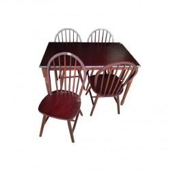 ชุดโต๊ะอาหาร 4 ที่นั่ง  winsor