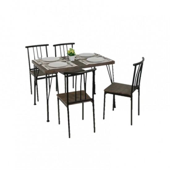 ชุดโต๊ะอาหาร 4 ที่นั่ง UNITY