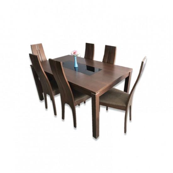 ชุดโต๊ะอาหาร 6 ที่นั่ง ค็อคโคม