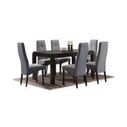 ชุดโต๊ะอาหาร 6 ที่นั่ง เอมม่า