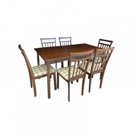ชุดโต๊ะอาหาร 6 ที่นั่ง เอ็นดู