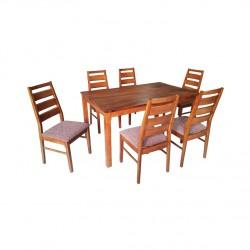 ชุดโต๊ะอาหาร 4 ที่นั่ง รุ่น จูน 8275