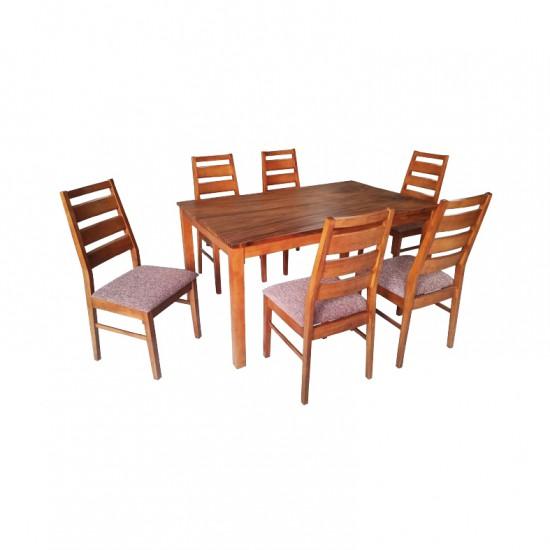 ชุดโต๊ะอาหาร 6 ที่นั่ง รุ่น จูน 8275