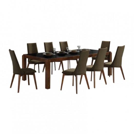 ชุดโต๊ะอาหาร 8 ที่นั่ง ลัคแซมเบริค