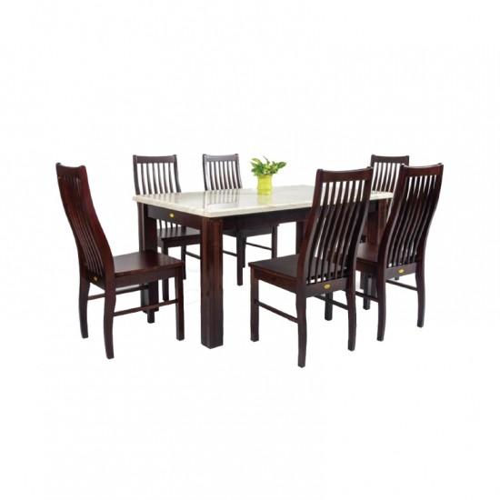 ชุดโต๊ะอาหาร 6 ที่นั่ง โกเบ