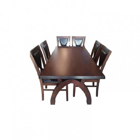 โต๊ะอาหาร 6 ที่นั่ง แมรี่โกลด์