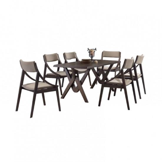 ชุดโต๊ะอาหาร 6 ที่นั่ง ซินเนอร์