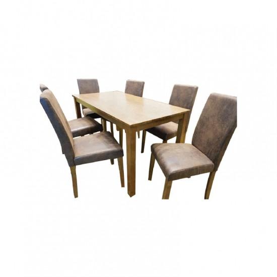 ชุดโต๊ะอาหาร 6 ที่นั่ง ลูซี่