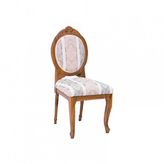 เก้าอี้หลังกลมหัวแคท-(แกะลาย)