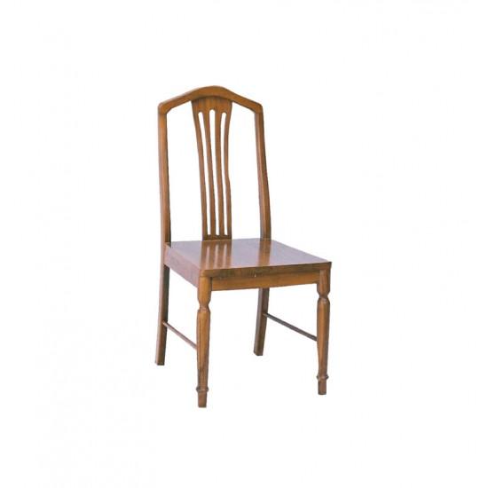 เก้าอี้เชลล์-พื้นไม้จริง