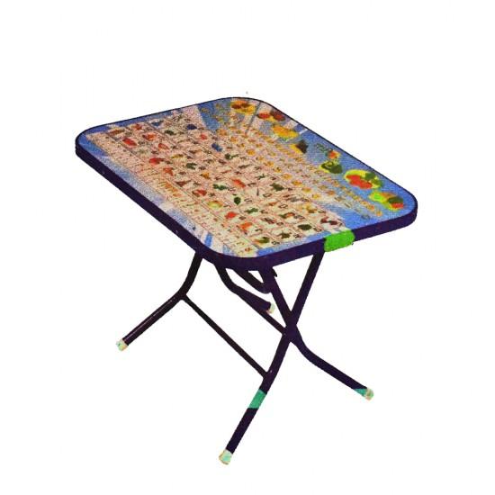 โต๊ะพับ กข(หน้าไม้ ขอบเหล็ก) SUN 112003